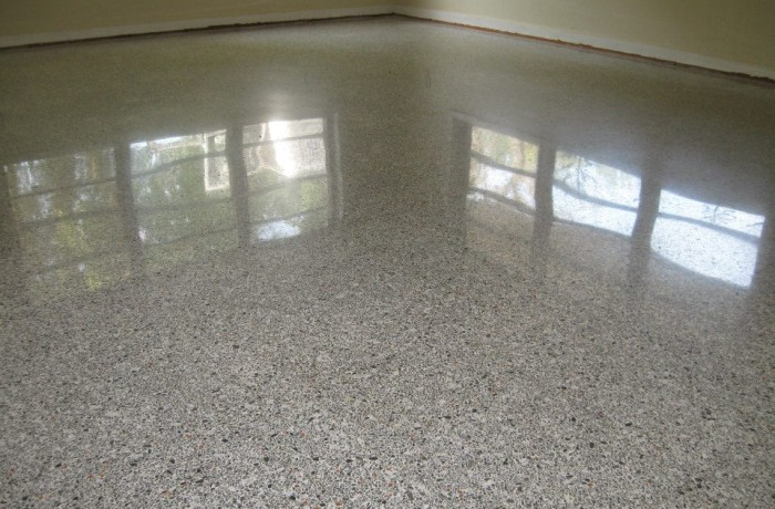Terrazzo repair and repolish