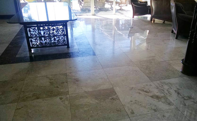 Professional Travertine Cleaning